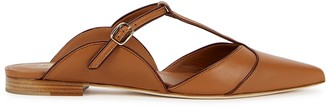 Malone Souliers Imogen 10 brown leather mules