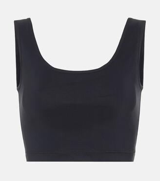 Wardrobe NYC Release 02 stretch-jersey crop top