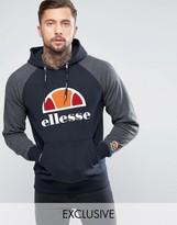 Ellesse Raglan Hoodie With Large Logo