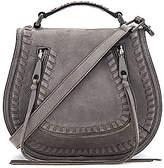 Rebecca Minkoff Small Vanity Saddle Bag in Gray.
