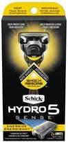 Schick Hydro5 Sense Energize - 1 handle + 2 razor blade refills