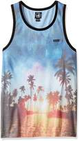 Body Glove Men's Hi Nooner Tank Top, Multi
