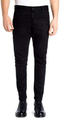 DSQUARED2 Tidy Regular-Fit Biker Jeans