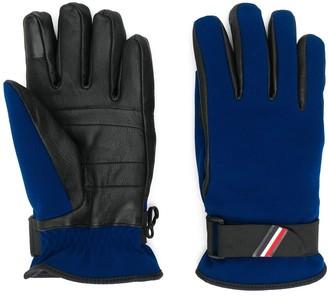 MONCLER GRENOBLE Leather Panel Gloves