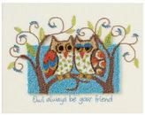"Dimensions 10"" x 8"" Punch Needle Kit - Owl Always Be Your Friend"