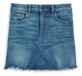 DL Premium Denim Big Girl's Chic Denim Skirt