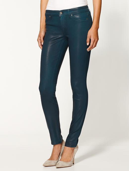Rich & Skinny Legacy Wax Coated Jeans