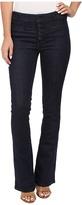Free People Slim Flare Trouser Jeans in Denim Blue