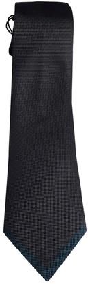 Louis Vuitton Anthracite Silk Ties