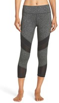 Zella Women's 'Live In - Electric Mix' Crop Leggings