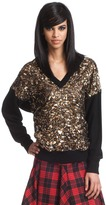 Tracy Reese Sweater Back V Neck