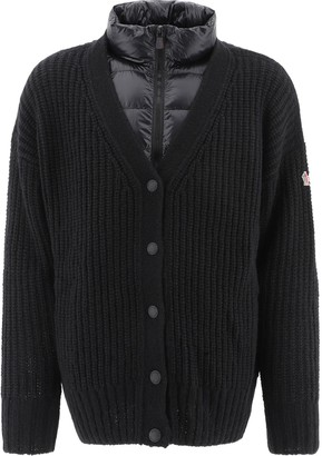 MONCLER GRENOBLE Padded Layer Cardigan
