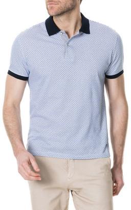Rodd & Gunn Men's Roys Hill Geometric Jacquard Polo Shirt