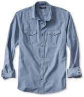 Banana Republic Slim-Fit Indigo Denim Western Shirt