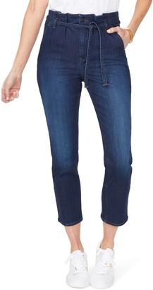 NYDJ Sheri Paperbag Waist Ankle Slim Jeans