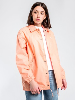 Carhartt Script Coach Jacket in Peach