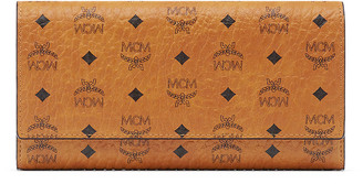MCM Color Visetos Large Tri-Fold Wallet