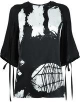 Ann Demeulemeester Thelma blouse