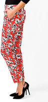 Forever 21 Essential Zipped Floral Capris