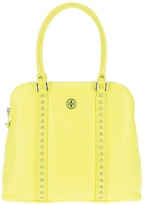 Tory Burch stud detail leather tote
