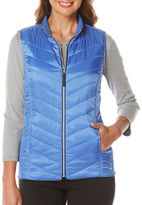Rafaella Diamond Quilted Sleeveless Vest