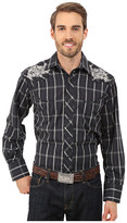 Roper 0099 Black Window Plaid