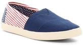 Toms Avalon American Flag Slip-On Shoe