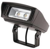 "575 Denim C-Series Hardwired LED Flood Light Kichler Bulb Color Temperature: 3000, Size: 6"" H x W x 7"" D"