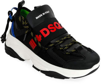 DSQUARED2 Men's Logo-Banded Runner Sneakers