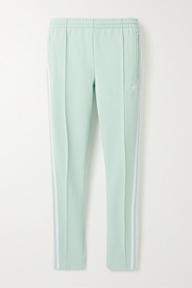 adidas Superstar Striped Tech-jersey Track Pants - Mint