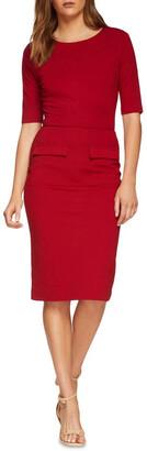 Oxford Giselle Ponti Dress