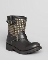 Ash Moto Boots - Titan Tarnish Studs