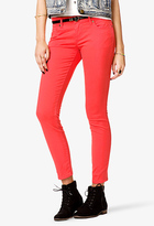 Forever 21 Life In ProgressTM Colored Skinny Chinos