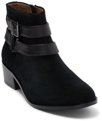 Vionic Mana Suede Ankle Boot - Wide Width Available
