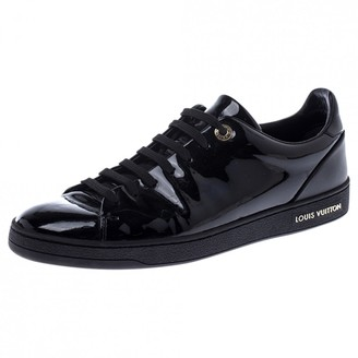 Louis Vuitton Frontrow Black Patent leather Trainers
