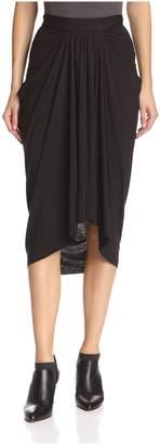 James & Erin Women's Front Gather Skirt