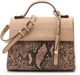 Tahari Women's Sienna Leather Mini Satchel