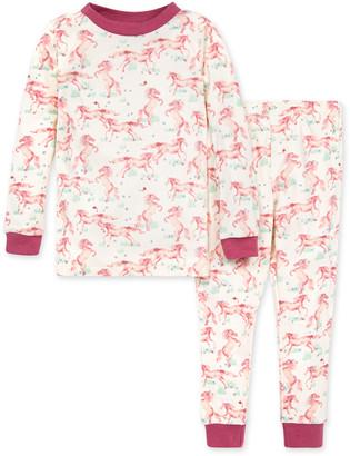 Burt's Bees Wild Horses Organic Baby Snug Fit Pajamas