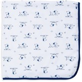 Little Me Infant Boys' Puppy Print Receiving Blanket