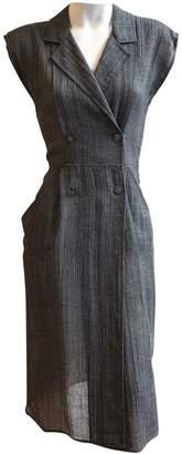 Gucci Grey Cotton Dresses