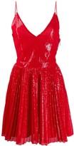MSGM Sequin Flare Dress