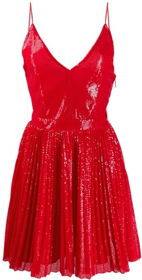 MSGM Sequin Flare Dress