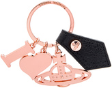Vivienne Westwood I Love Orb Rose Gadget Key Ring