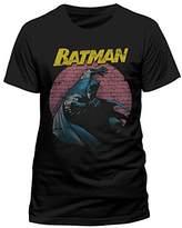 Batman Men's DC Comics-Spotlight T-Shirt