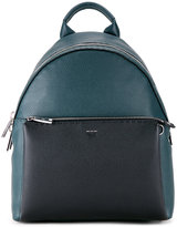 Fendi contrast pocket backpack - men - Calf Leather - One Size