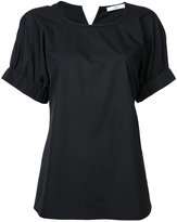 ASTRAET elasticated cuffs T-shirt - women - Cotton - One Size