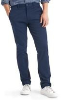Gap Classic stretch slim fit khakis