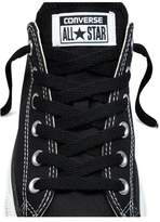 Converse 45 Inch BLACK Flat Shoelaces - fits 7 to 8 eyelets