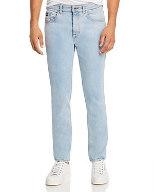 Versace Patch Pocket Skinny Fit Jeans in Indigo