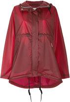 Hunter hooded raincoat